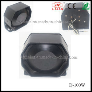 Electronic Police Motorcycle Speakers (D-100W) pictures & photos