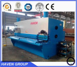 CNC hydraulic guillotine shearing steel plate cutting machinery steel plate shear sheet metal shear machine pictures & photos