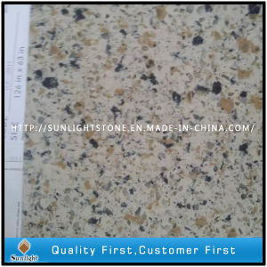 Artificial Engineered Quartz Stone for Countertops (with Double quartz Colors) pictures & photos