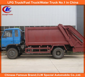 Dongfeng Mini Compactor Garbage Truck pictures & photos