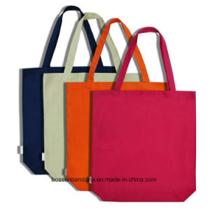 OEM Produce Customized Logo Printed Cotton Canvas Craft Tote Bag pictures & photos
