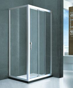 Sanitary Ware Bathroom Tempered Glass Shower Box (H011) pictures & photos