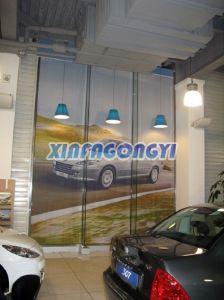 Custom Hanging Fabric Banner, Fabric Curtain Banner pictures & photos