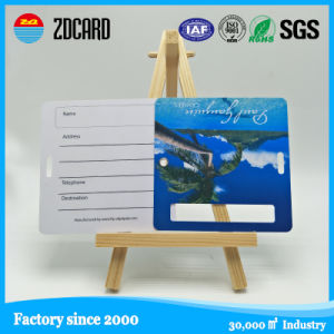 Soft PVC Traveling Assistant Wholesale Luggage Card pictures & photos