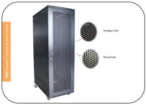 42u 600width Network Cabinet with Swing Handle Lock pictures & photos