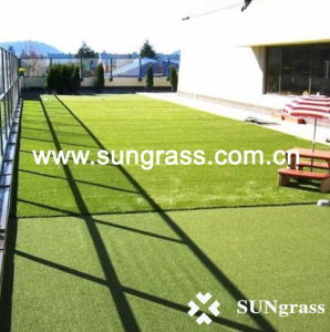 High Quality Artificial Turf for Landscape or Garden (SUNQ-HY-13-1) pictures & photos