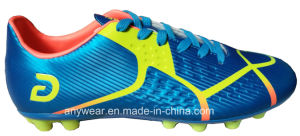Athletic Footwear Men Football Boots Outdoor Soccer Shoes (816-9957) pictures & photos