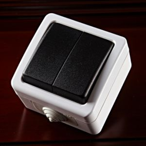 Block One Way Wall Switch and Shucko Socket pictures & photos