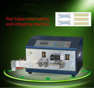 Flat Cable Wire Cutting and Stripping Machine pictures & photos