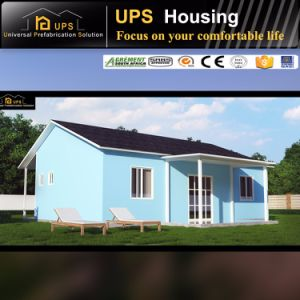 TUV Certificated Long Life Span Prefab Prefabricated Villa with kitchen Facilities pictures & photos