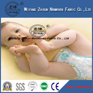 SSS Soft Hydrophilic Non Woven Fabric for Baby Diaper pictures & photos