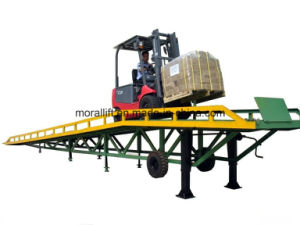 High Quality Hydraulic Mobile Container Dock Ramp pictures & photos