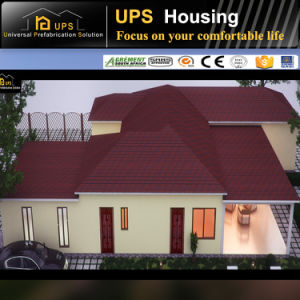 ISO Certificated Durable Prefabricated Modern House Family Living pictures & photos