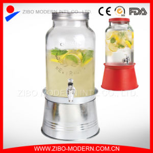 Wholesale Glass Juice Jar Beverage Dispenser pictures & photos
