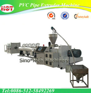 50-160mm PVC Pipe Extruder Machine /Extrusion Machines pictures & photos