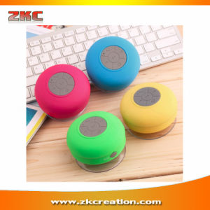 Waterproof Wireless Bluetooth Speaker Handsfree Mic Suction Shower Car Speaker