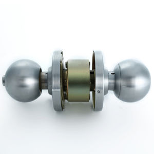 Stainless Steel Hardware Safe Door Handle Knob Ball Lock pictures & photos
