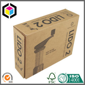 Pink Color Flexo Print Cardboard Paper Shipping Box pictures & photos