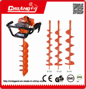 Gas Ground Drill Hand Ground Drill Earth Drilling Equipment pictures & photos