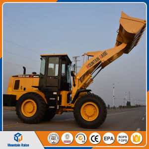 China Construction Machinery 3 Ton Wheel Loader Earth-Moving Machinery Price pictures & photos