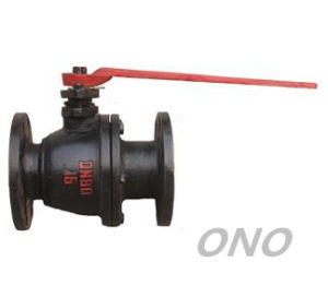 Cast Iron Floating Ball Valve with Flange pictures & photos