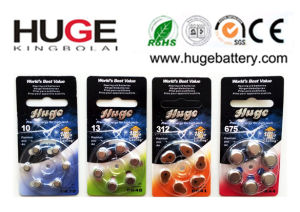 1.4V Hearing Aid Battery A10/A13/A312/A675 pictures & photos