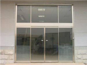 Good Design Office Use Aluminium Glass Automatic Door pictures & photos