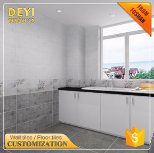 250*750 Chinese Ceramic Tiles White Marble Look Design Interior Wall Bathroom Tile pictures & photos