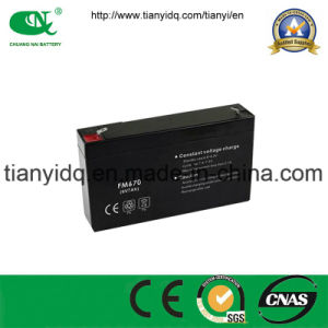 6V7ah Sealed Lead Acid VRLA Storage Lead Acid Battery