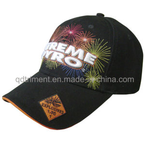 Top Quality Fireworks Embroidery Leisure Sport Baseball Cap (TMB00655-1) pictures & photos