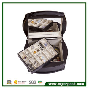 Factory Price Elegant Customzied Wooden Jewelry Box pictures & photos
