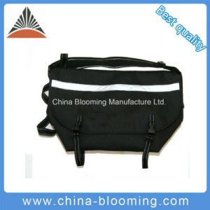 Small Outdoor Waterproof Black Reflective Material Messenger Bike Bicycle Bag pictures & photos