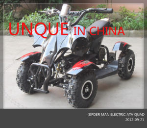 Unqie Design 500W Electric ATV Quad, Kids Electric Scooter pictures & photos