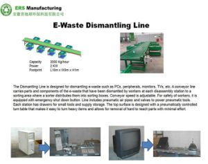 E-Waste Dismantling/Disassembling Machine/ Recycling Line