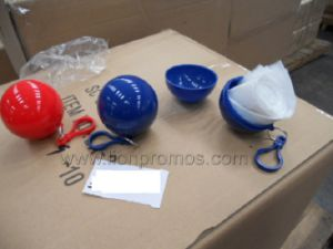 Events Promotional Gift Disposable Ball Rain Poncho pictures & photos