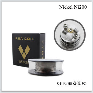 2015 Best E Cigarette Wire Nickel Ni200 Nichrome Wire Resistance Wire Coil