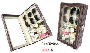 Luxury Good Quality Sunglasses Eyewear Display Box Showing Case (X035) pictures & photos