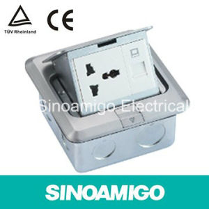 Aluminum Pop up Electrical Connector Socket Floor Box pictures & photos