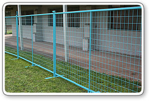 Galvanized Welded Wire Mesh Municipal Temporary Fence (Anjia-072) pictures & photos