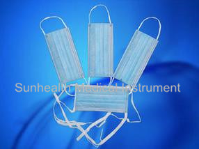 Disposable Medical Surgical Face Mask, Non Woven Face Mask of 3ply