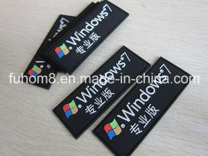 Customized Eco-Friendly Rubber Plastic PVC Label / PVC Patch pictures & photos