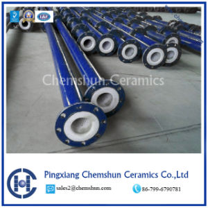 High Alumina Tube Compounded Pipe Liner pictures & photos