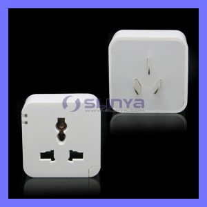 EU Au Us UK 3-Pin Plug WiFi Socket Wireless Light Scoket Adapter Outlet for Samsung S6 iPhone 6 Smart Phone pictures & photos