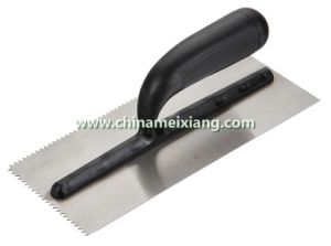 11x5′′ Plastic Handle Plastering Trowel, Bricklaying Trowel (MX9010) pictures & photos