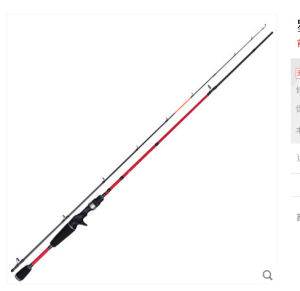 1.9m UL Action Lure Fishing Rod Both Baitcasting Rod Seat and Spinning Reel Seat pictures & photos