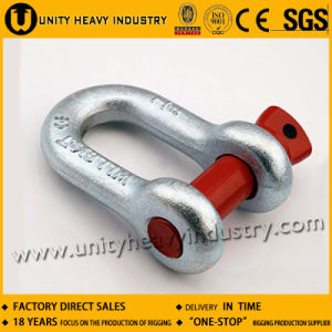 G-210 S-210 U. S Type Forged Screw Pin Chain Shackle pictures & photos