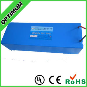 High Voltage 72V 10ah LiFePO4 Batteries with PCM pictures & photos