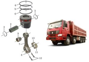 Sinotruk HOWO Truck Spare Part for African Market pictures & photos