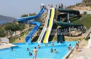 High Fiberglass Water Slide for Water Park pictures & photos