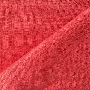Linen Knitted Solid Fabric for T-Shirt pictures & photos